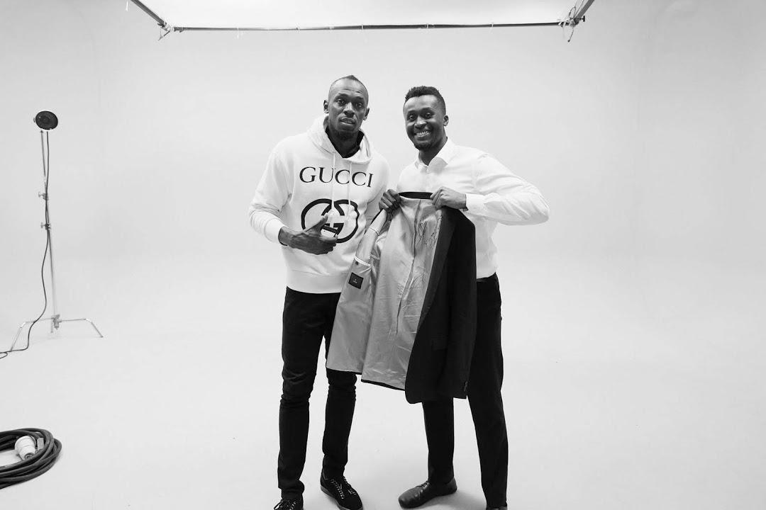 Usain Bolt and Quincy Washington